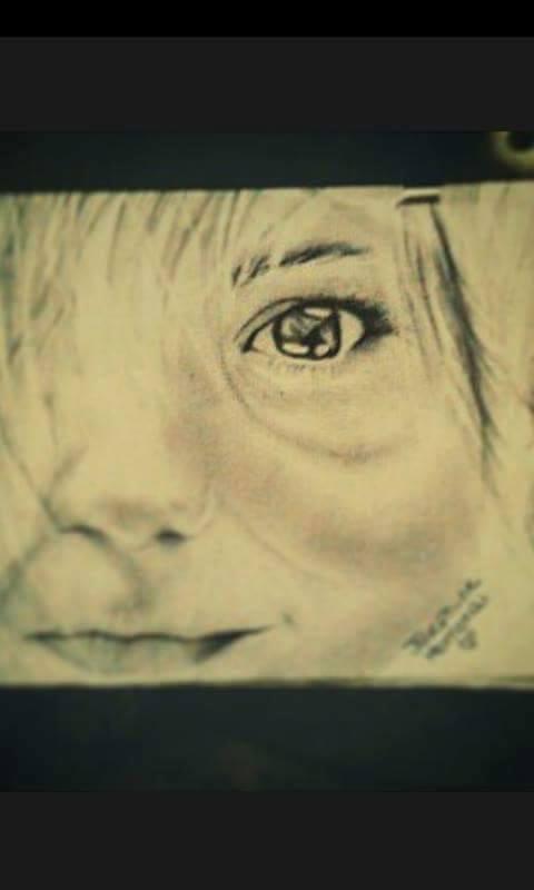 Child's Face by Josie