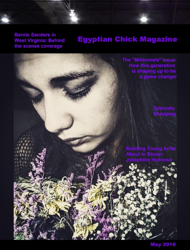 Egyptian Chick Cover May 2016 Josephine Homonai Cover Girl.jpg