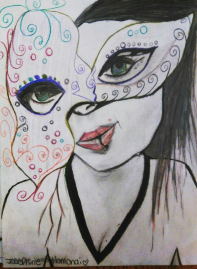 Josephine Masquerade Lady