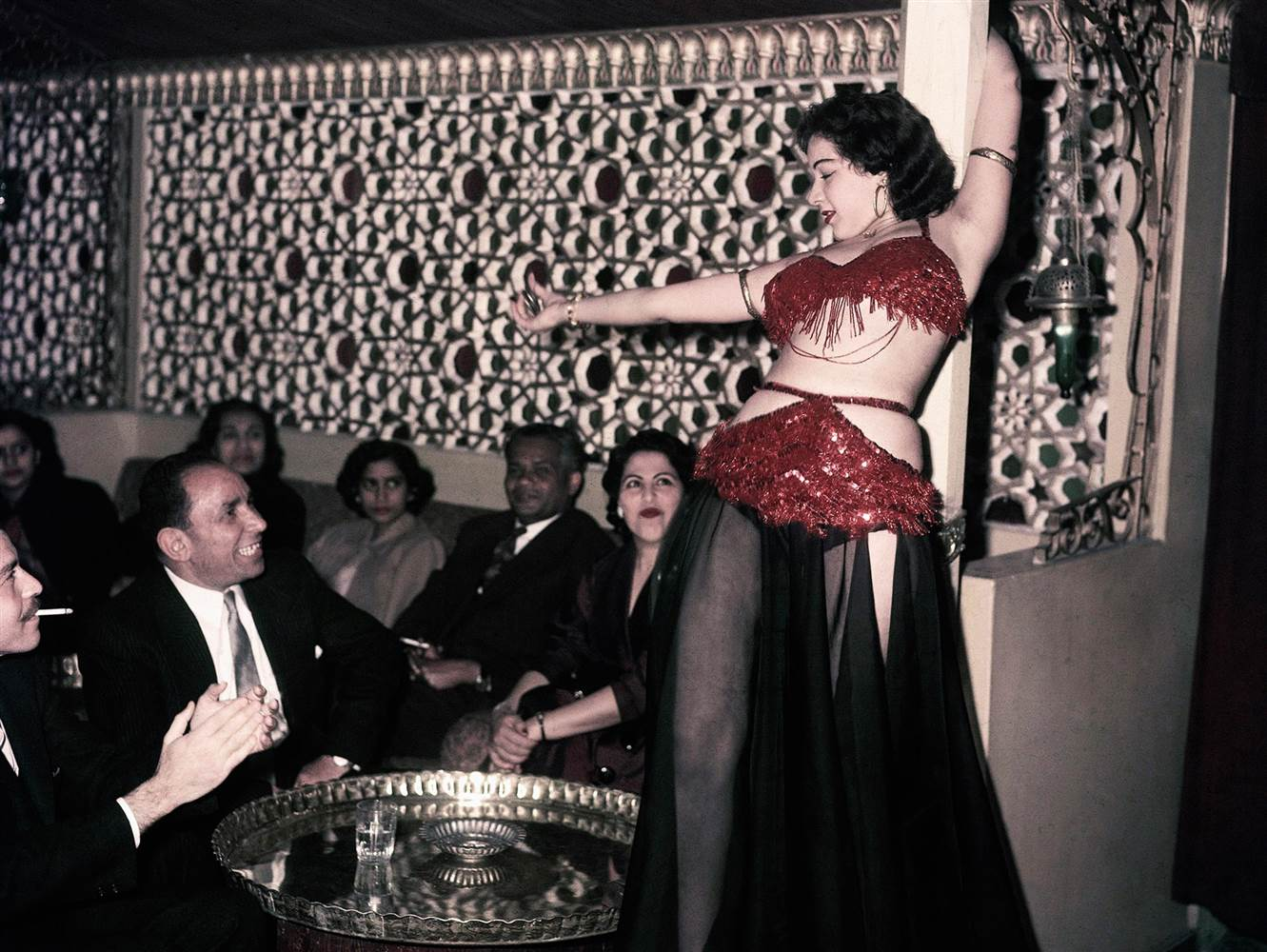 Ferial at the Abdin Casino Cairo AP File Unknown Photographer
