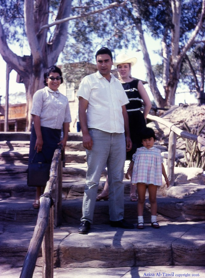 Rosemary, Alfonso, their daughter, and Johanna