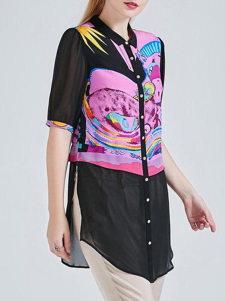 beiyaming-silk-colorblock-tunic-2