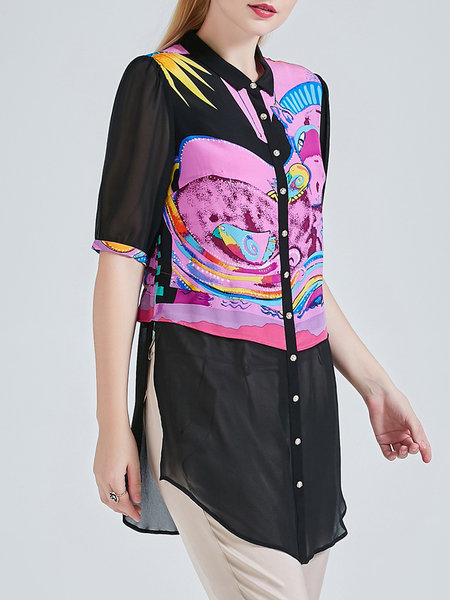 beiyaming-silk-colorblock-tunic-2