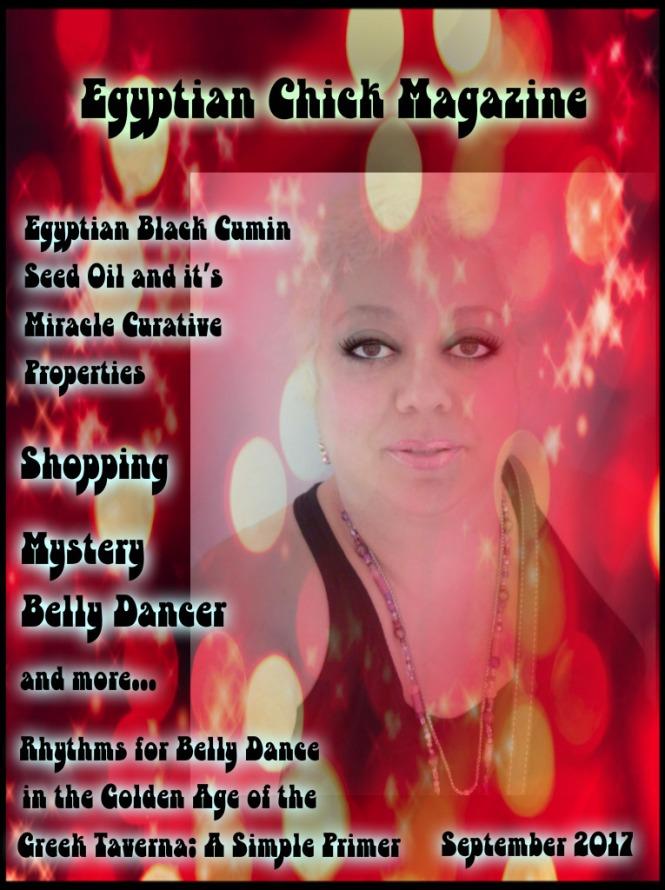 Egyptian Chick Magazine Cover for Sept 1017
