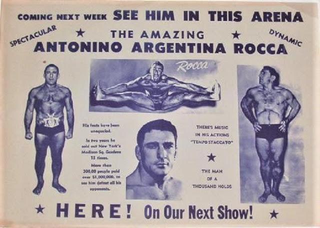 Antonino Rocca Poster