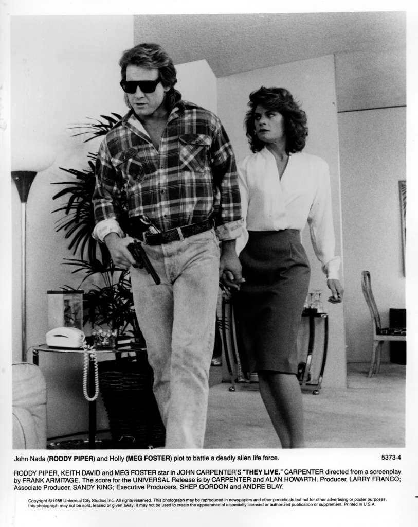 Roddy Piper and Meg Foster They Live