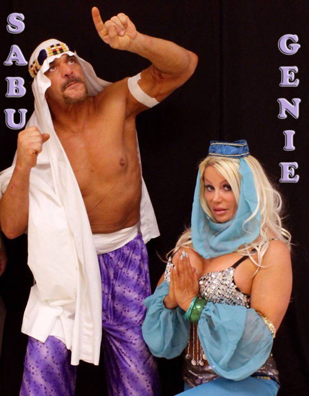 Sabu and Genie