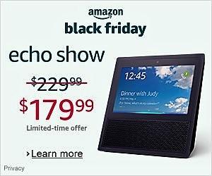 Black Friday Echo Device Sale Banner