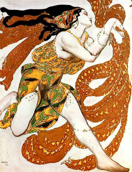 Bachante 1911 Narcisse by Leon Bakst