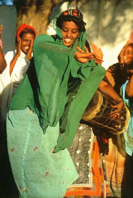 Somali Wedding Dance Green Veil.jpg