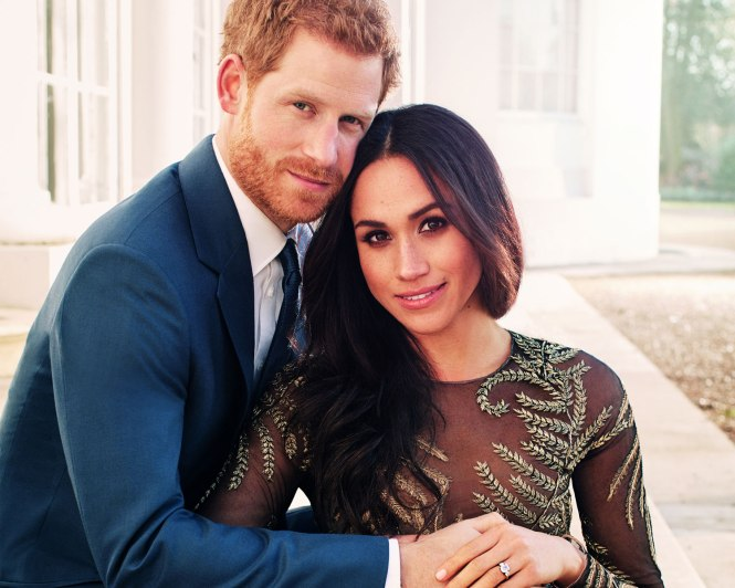 Prince Harry and Meghan Markle Engagement Photo by