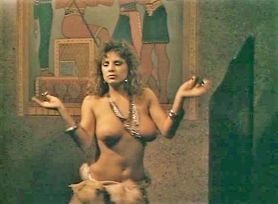 Naked belly dancing wife